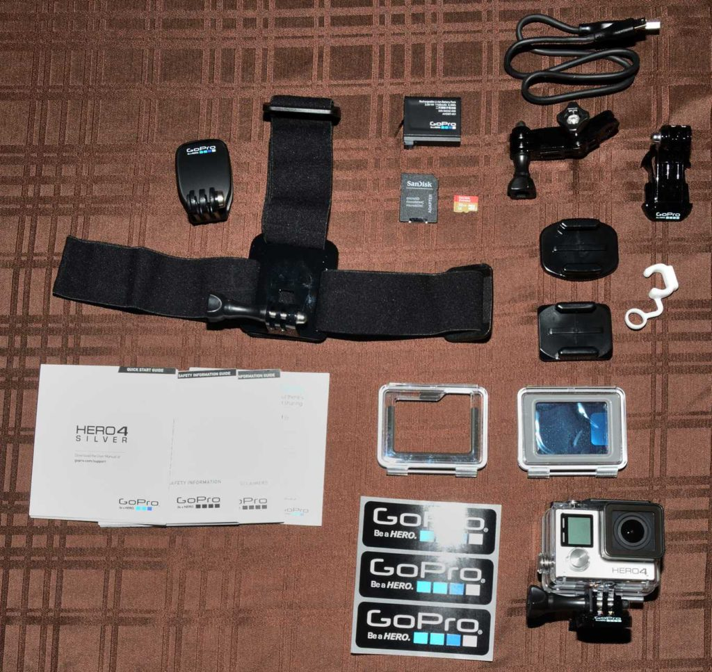 GoPro HERO4 Silver - unboxing