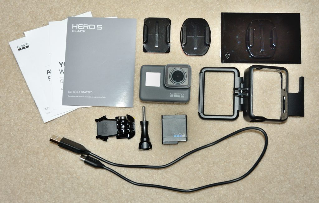 GoPro HERO5 Black - unboxing