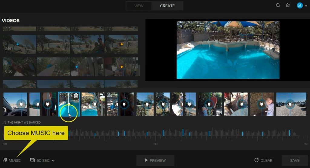 how to delete gopro videos