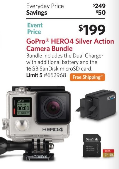 The Best Gopro Deals On Black Friday 2016 Filming Family