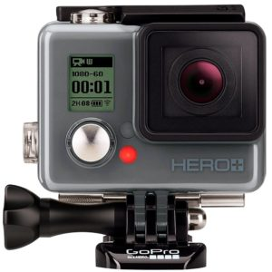GoPro HERO with LCD display