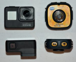 GoPro HERO5 Black compared to VTech Kidizoom