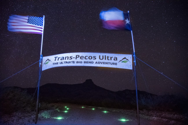 Trans-Pecos Ultra finish line